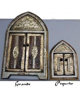 Branco de - 3 tamanhos - laranja - osso árabe espelho bronze