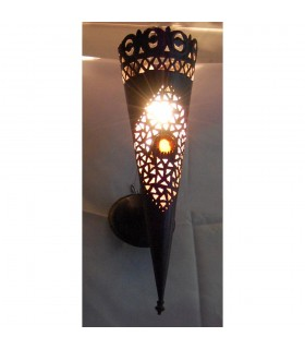 Apply iron fretwork - round torch - various sizes