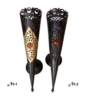 Применение железа лепнина - круглый факел - различных размеров