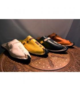 Pele chinelos Aladdin - 4 cores - novidade