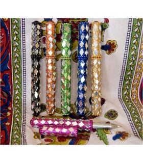 Penna specchi - colori multipli - regalo ideale - 12 cm