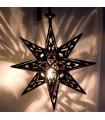Star lamp iron openwork - Arabic - Andalusian - NOVELTY