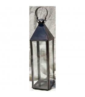 Candela quadrata grande lanterna - novità