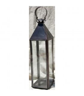Large Square Candle Lantern - NEW