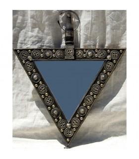 Arabische Alpaca - Dreieck Spiegel