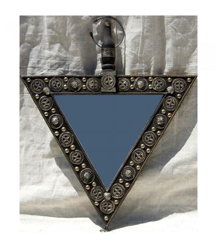 Espejo Arabe Alpaca - Triángulo