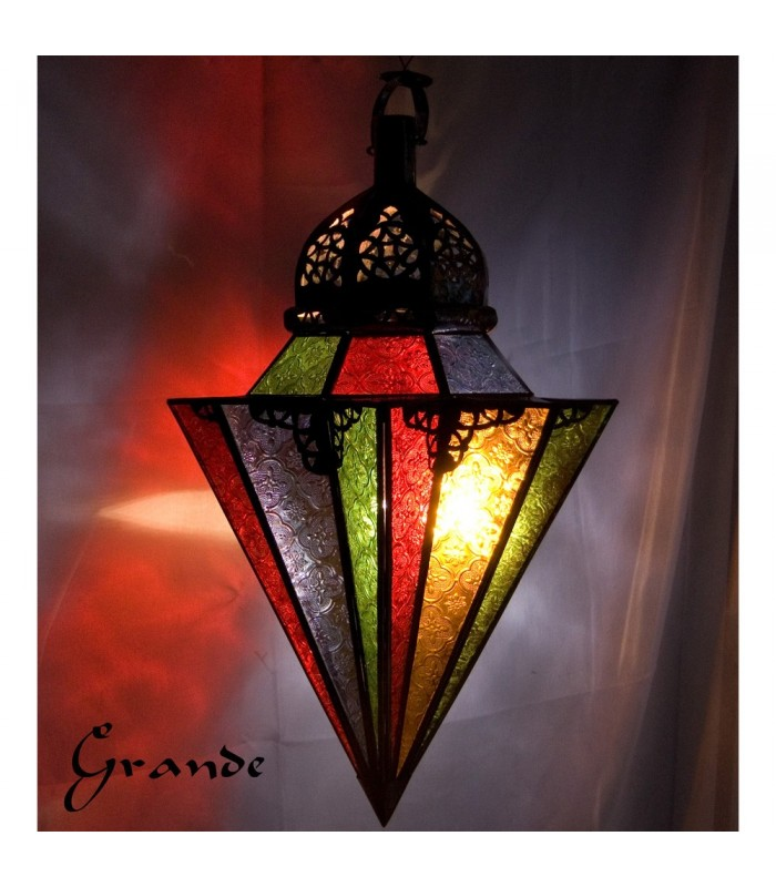 Lamp Color Glass - Umbrellas - 2 Sizes - NEW