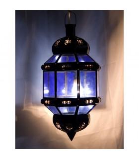 Lámpara Octogonal Andalusí- Varios Colores Transparente -NOVEDAD