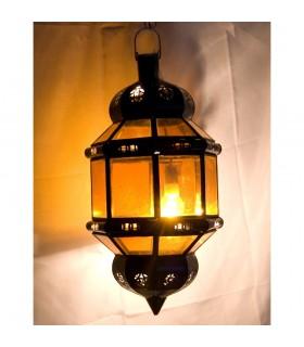 Achteckige Lampe Andalusi-verschiedene Farben transparent - Neuheit