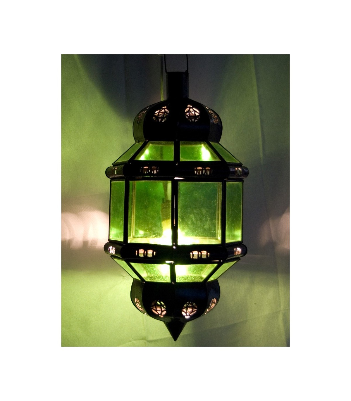 Varios Octogonal Colores Lámpara Andalusí Transparente mvNn0w8