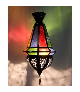 Lâmpada furada pequena bolota - Multicolor - novidade