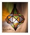 Lámpara Trompo Cristal - Varios Colores - 2 Tamaños - NOVEDAD