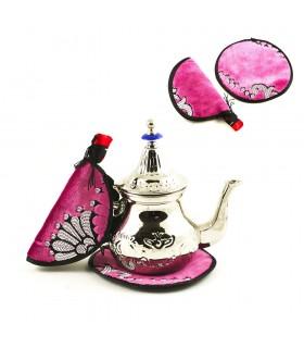 Ibis falcinelle - poignées de maintien et de napperon pour le thé - nouveauté