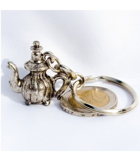 Teapot Keyrings Arabic of luck - NEW