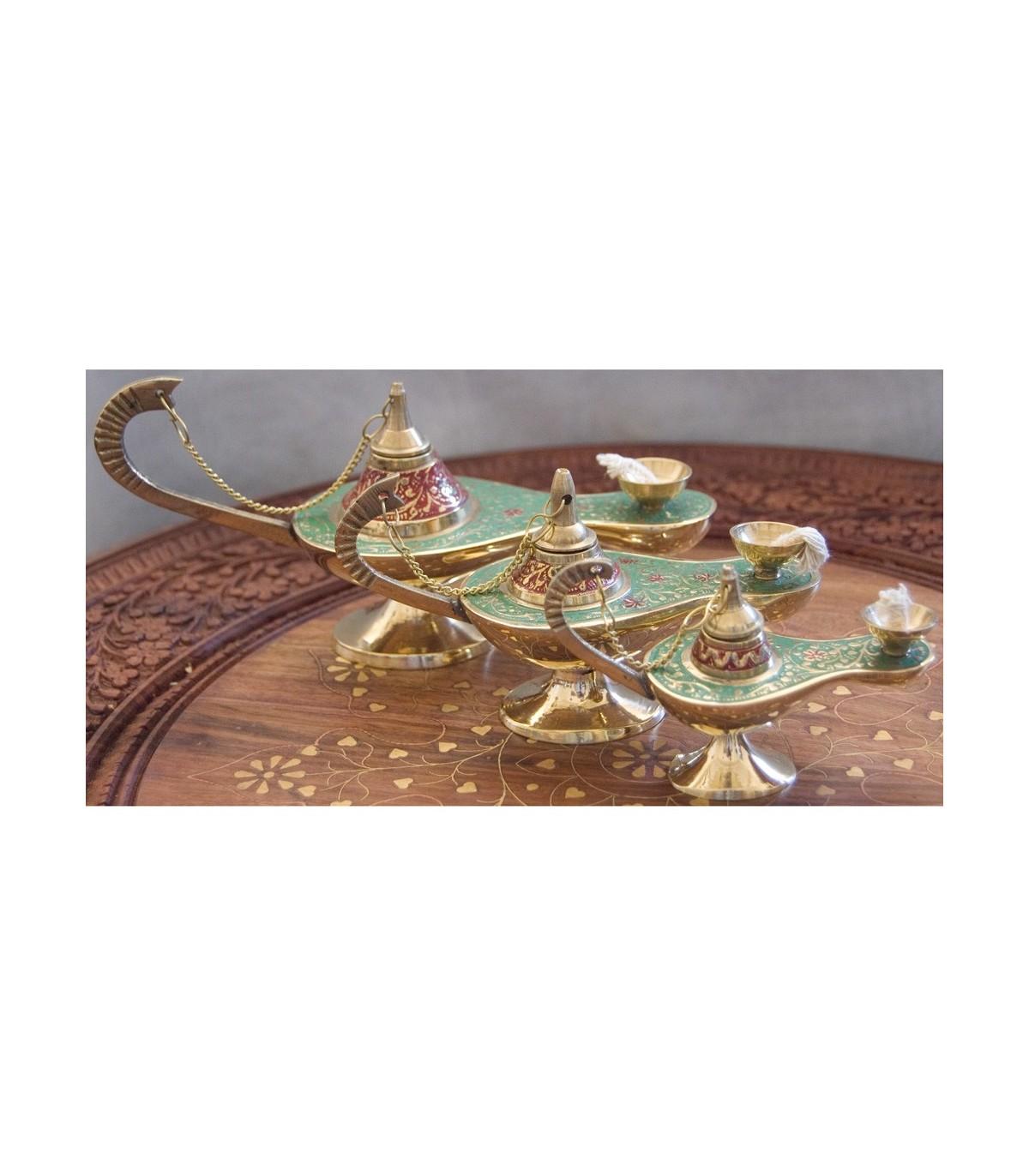 Genie Candle Aladdin - Cotton Wick - Bronze - NEW