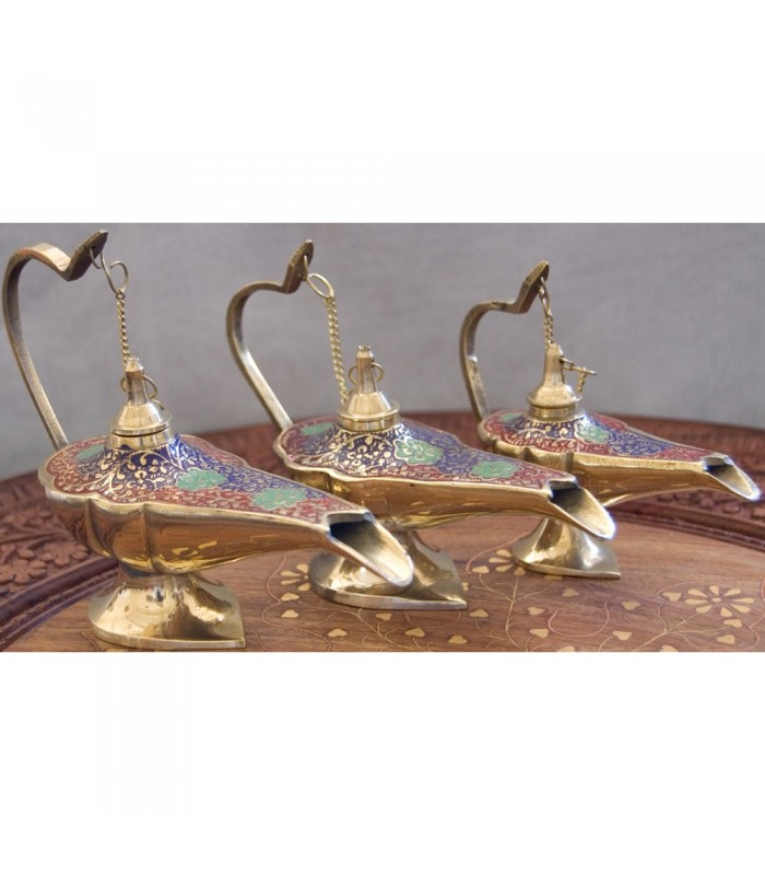 Candil Genie Aladdin Bronze - 3 Sizes - 3 Colours - NOVEDAD