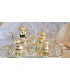 Silver tea - nickel - high quality - new