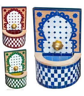 Fuente de Mosáico Mini - Instalación - Ruedas - Colores -NOVEDAD