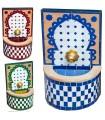 Fuente de Mosáico Mini - Instalación - Colores - 32 cm