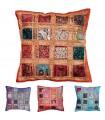 Cushion Cover 40 cm Bright Paths - Cotton - Various Colors