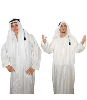 Handkerchief with ring - Bedouin - Arab Saudi cotton - NOVELTY