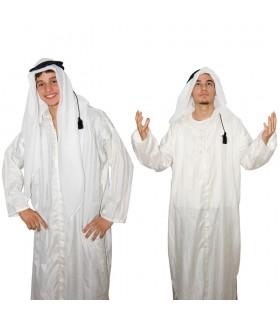 Lenço com anel - beduíno - árabe Saudita algodão - novidade