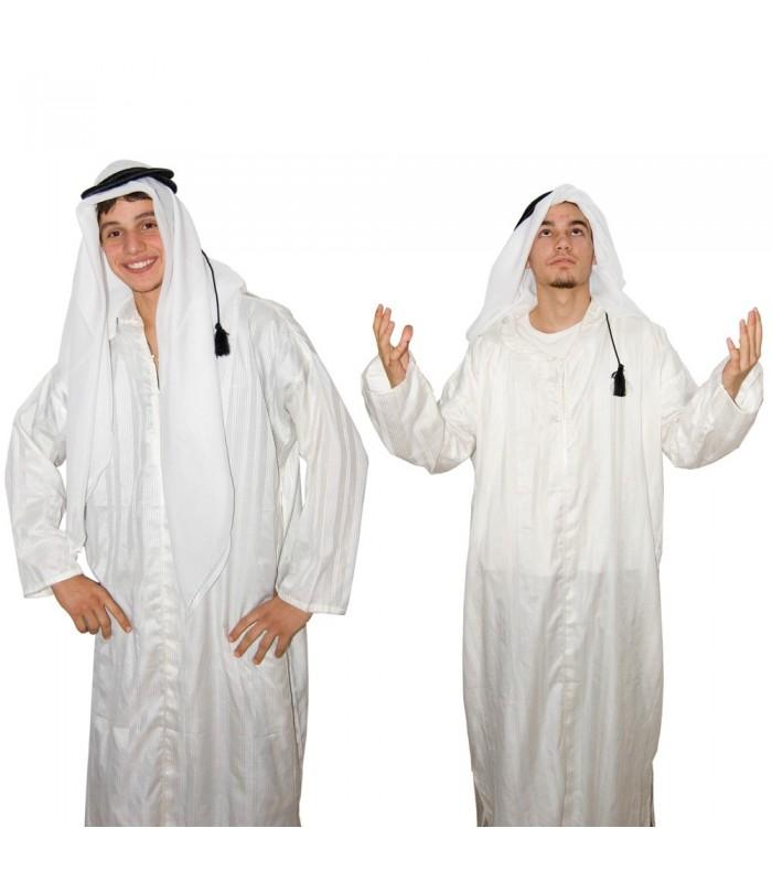Pañuelo Arabe Saudi con Aro - Beduino - Algodón - NOVEDAD