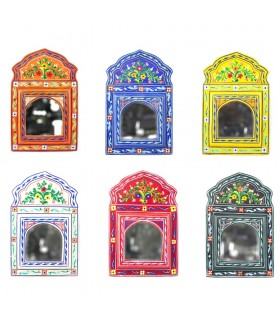 Little Hand Painted Mirror Andalusi - Various Colors