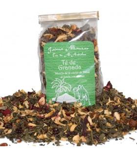 Chá de romã - chás de Al - Andalus - de 100 gr - novidade