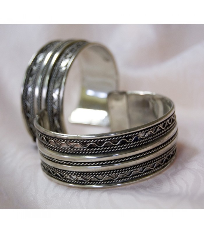 Double Silver Bangle Drawing - NEW