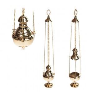 Censer Botafumeiro Chain - Bronze or Nickel - 22 cm