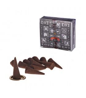 Supert Hit Incense Cones - SATYA - 12 units - Includes Base