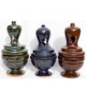 Botafumeiro - зерно - Глазурованная керамическая благовония кадильницу