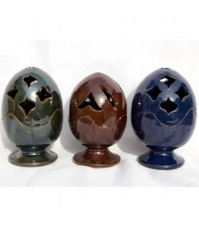 Censer Ball - Grain Incense - Ceramic Enameled