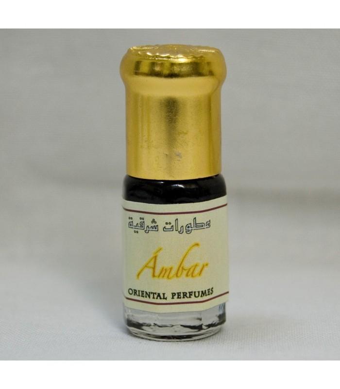 Ambar - Perfume Corporal Arabe - Gran Calidad - Dosificador