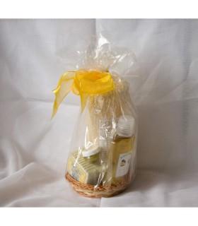 Pack avocado (oil + SOAP + balm + Natural Loofah)