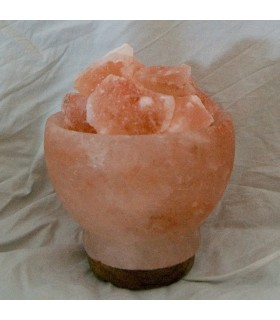 Volcano Fire Lamp - Himalayan Salt Natural - NEW