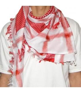 Vermelho saudito árabe - beduína - algodão lenço - novidade