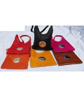 Bolsa de couro do artesão - modelo 3