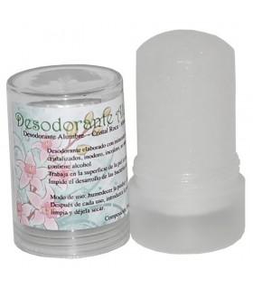 Deodorante allume minerale di roccia - 120 gr - cristallo naturale