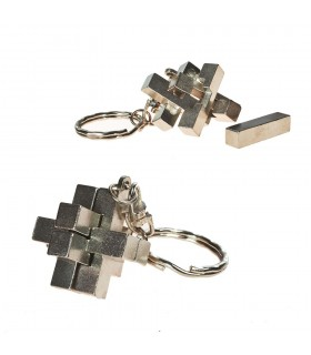 Ingenio Keychain Cross - Split the pieces