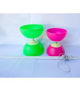 Diabolo - jonglerie - 2 tailles