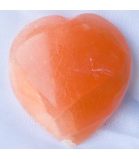 Corazón Sal Pulida - Mineral Natural - Espectacular - 2 Tamaños