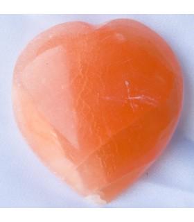 Сердце полированной соли - природный минерал - впечатляющий - 2 размера