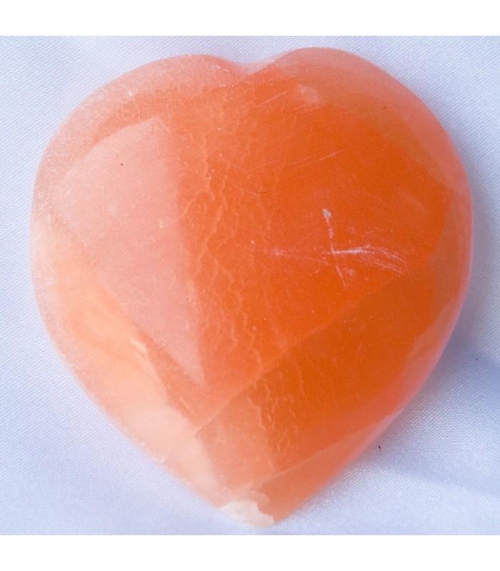 Polished Salt Heart - Natural Mineral - Spectacular