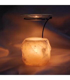 Brûleur de parfum - stand - naturel - Himalaya - nouveauté