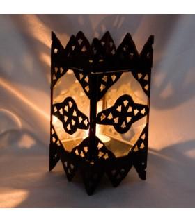 Kerze-Halter mit Tiefgang - Seite Tür Glasturm