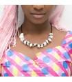 African shell necklace - design Etnico - craftsman - 3 model