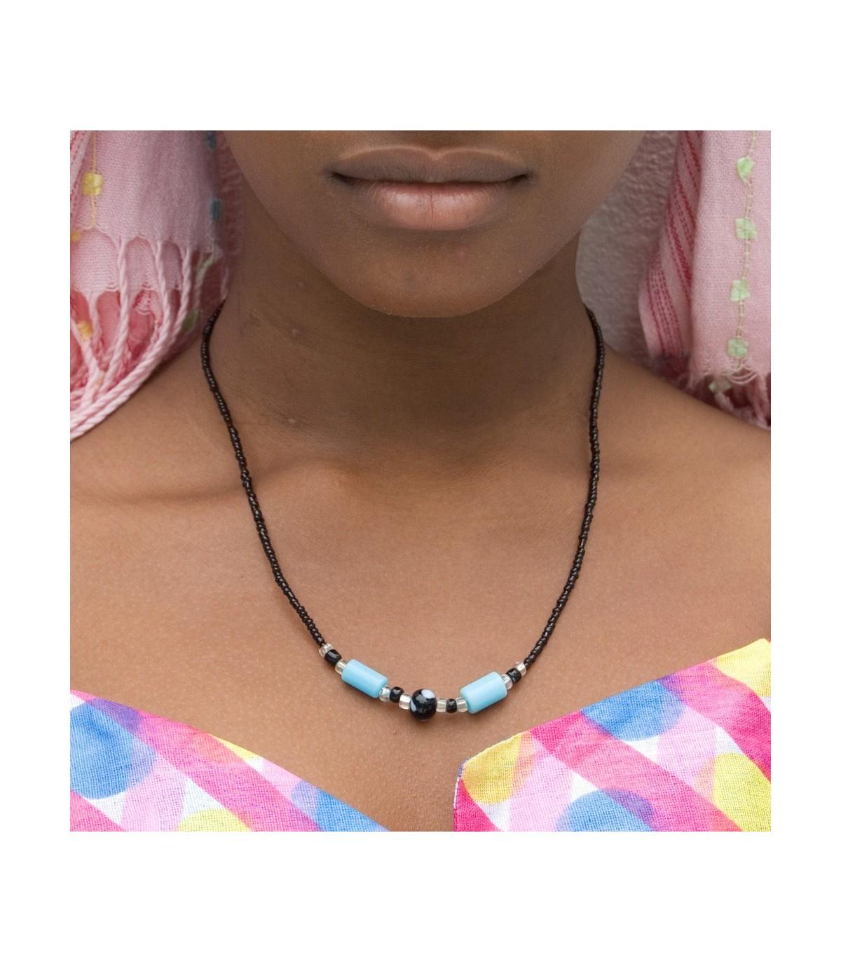 eb57336a5657 Collar Africano - Diseño Etnico - Artesano - Modelo 4 - Online