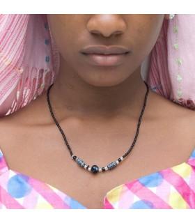 Artisan de collier - conception Etnico - coquille africaine - modèle 5